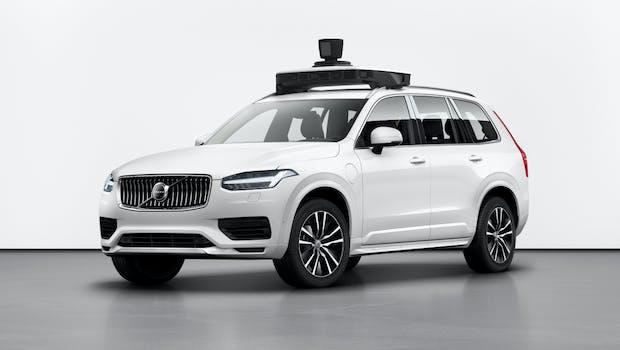 Autonom fahrender Volvo XC90 mit Uber-Technologie. (Bild: Volvo Cars)