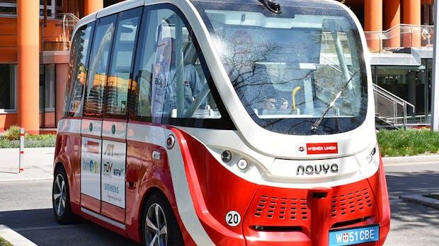 Wien hat jetzt zwei autonome E-Busse