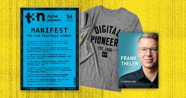 Die Autobiografie von Frank Thelen gratis zu deinem neuen t3n Abo!