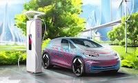 Volkswagen plant 36.000 Ladepunkte für E-Autos bis 2025