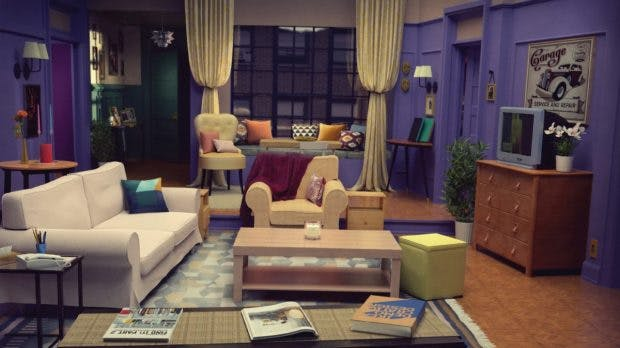 "Ikea-WG: Monica's Apartment aus ""Friends"""