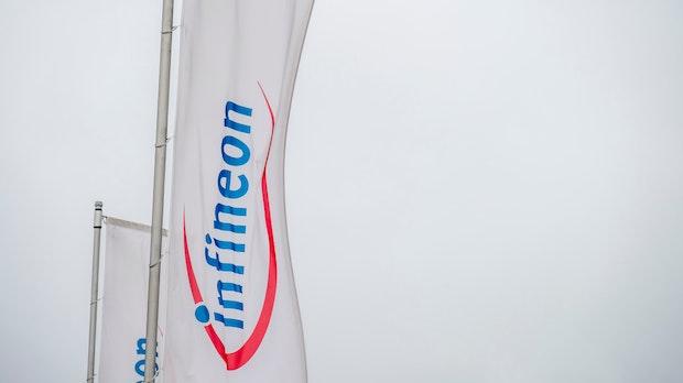 Infineon hebt nach starkem Quartal die Jahresprognose