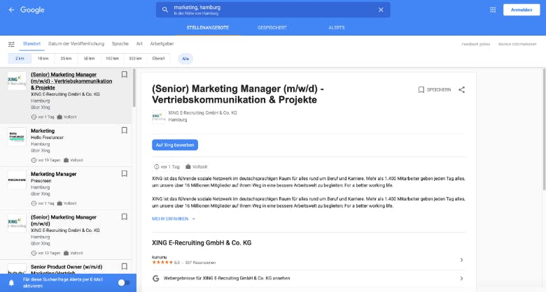 Recruiting Google for Jobs