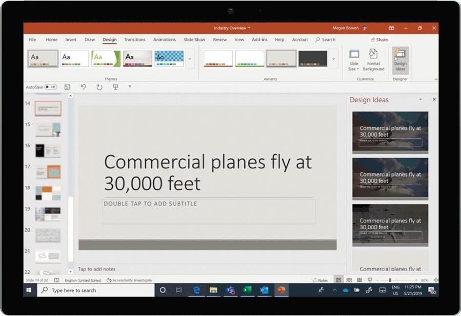 Designer: Microsoft verpasst Powerpoint ein paar neue KI-Funktionen