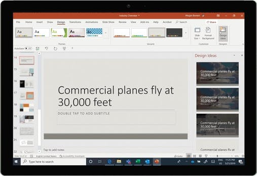 Update for PowerPoint: Microsoft integrates new AI features into Designer tool