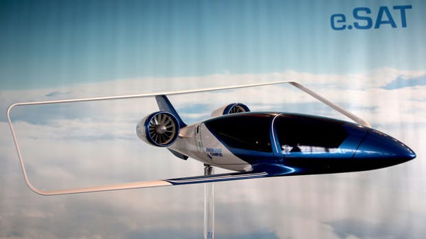 Silent Air: Aachener Flug-Taxi soll bis 2024 starten