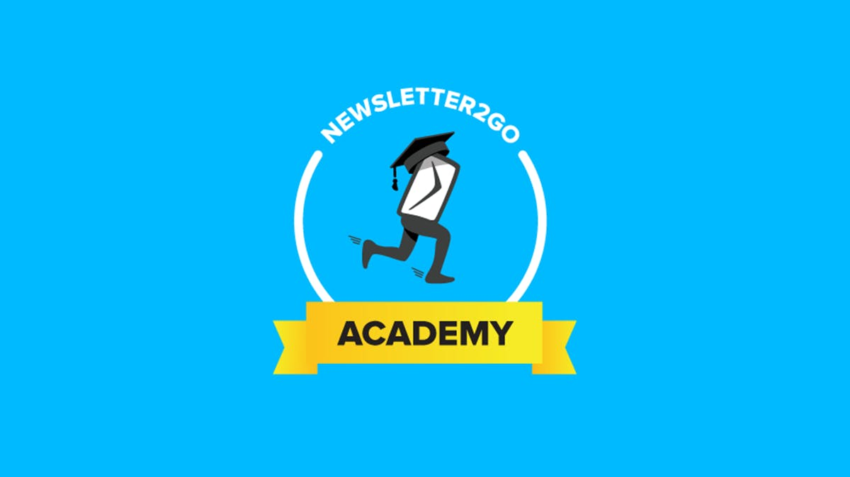 Werde zum Newsletter-Marketing-Guru mit der Newsletter2Go Academy