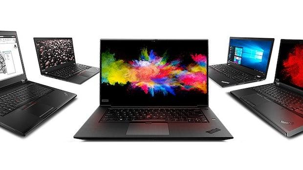Thinkpad-P-Serie: Lenovo zeigt neue Workstation-Rechner