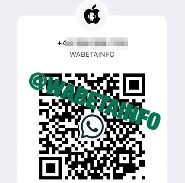 QR-Code bei Whatsapp