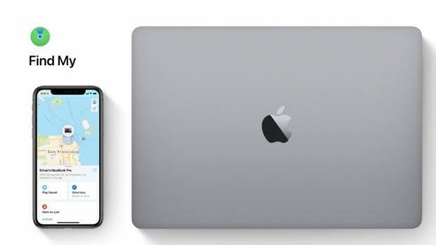 Apple Find My ist Teil von iOS 13 und macOS Catalina. (Screenshot: Apple)