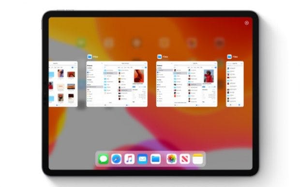 iPadOS: So sieht App Exposé aus. (Bild: Apple)