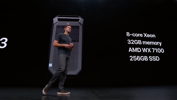 Apple Mac Pro 2019. (Screenshot: Apple/t3n)