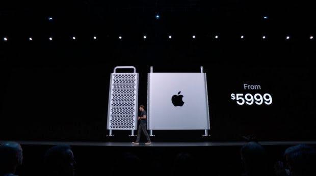 Der neue Mac Pro kostet ab 6.000 Dollar.(Screenshot: t3n; Apple)