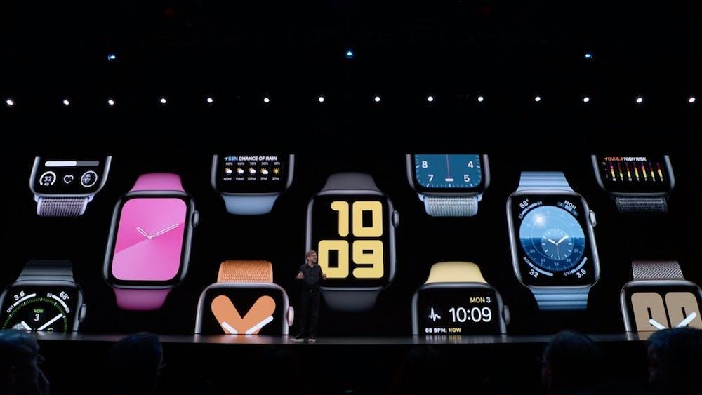 Apple zeigt watchOS 6 für die Apple Watch. (Screenshot: Apple/t3n)