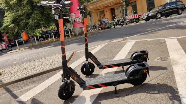 Hier bitte nicht mehr abstellen! – Neue Regeln für E-Scooter geplant