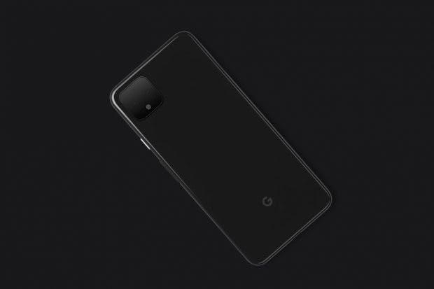 Googles Pixel-4-Teaser zu einem Gerät zusammengesetzt. (Bild: The Verge)