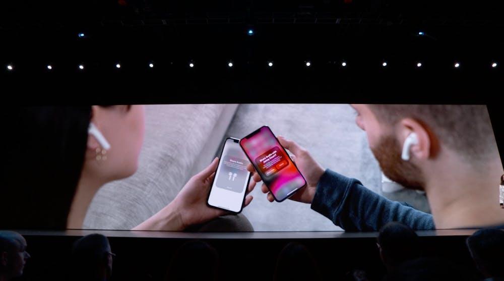 iOS 13 – Musik teilen per Airpods. (Screenshot: t3n; Apple)