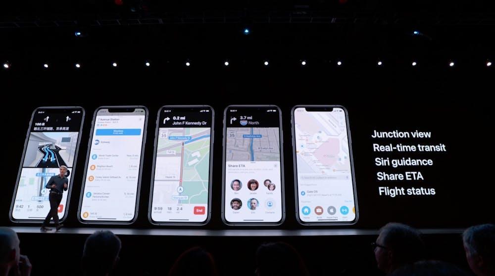 iOS 13 kommt mit neuem Apple Maps. (Screenshot: t3n; Apple)
