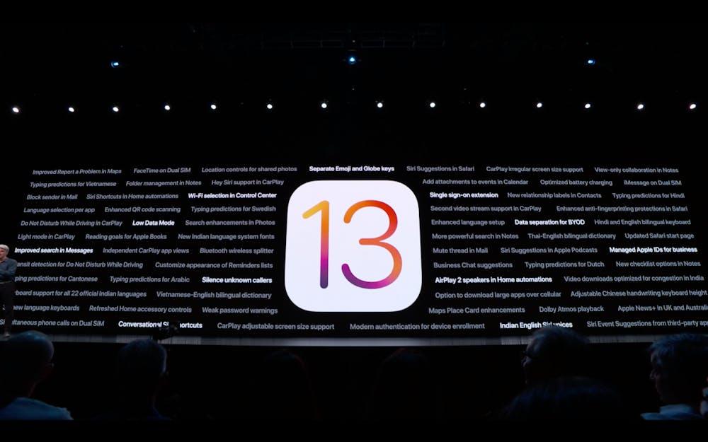 iOS 13 kommt mit vielen neuen Funktionen. (Screenshot:t3n)