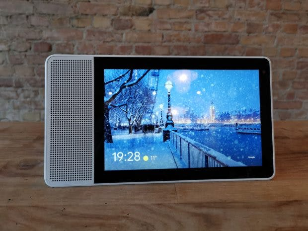 Lenovo Smart Display mit 10-Zoll-Display. (Foto: t3n)