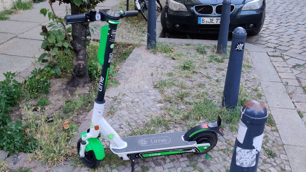 Lime E-Scooter. (Foto: t3n.de)
