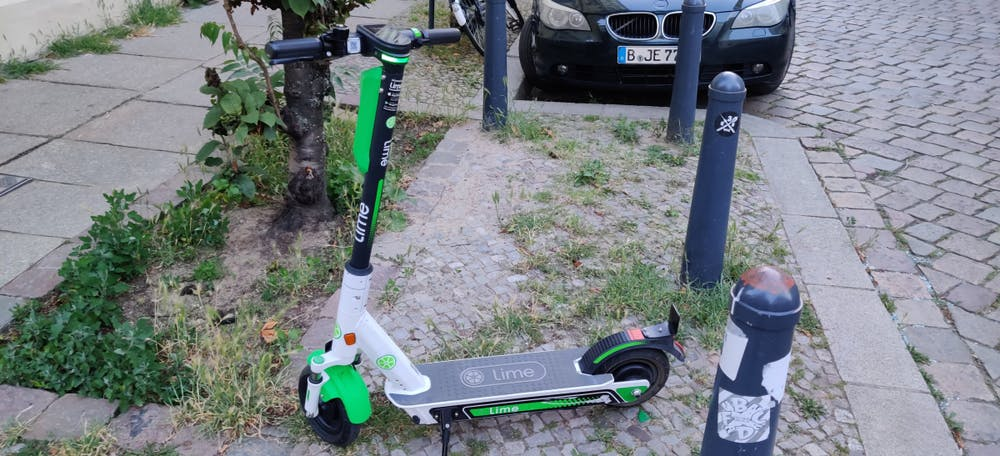 Lime E-Scooter. (Foto: t3n)