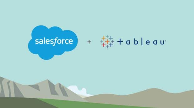 Salesforce übernimmt den Datenanalyse-Spezialisten Tableau für 15,7 Milliarden Dollar