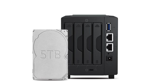 Synology Diskstation DS419slim. (Bild: Synology)