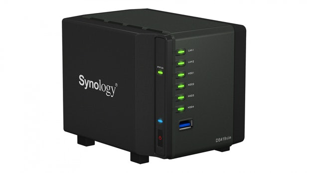 Diskstation DS419slim: Synology kündigt neue Mini-NAS an