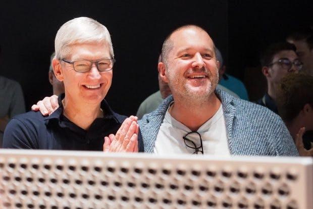 Tim Cook und Jonathan Ive auf der WWDC 2019. (Bild: t3n / Sébastien Bonset)