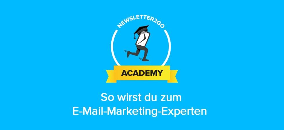 Die Newsletter2Go Academy macht aus unerfahrenen E-Mail-Marketern waschechte Profis