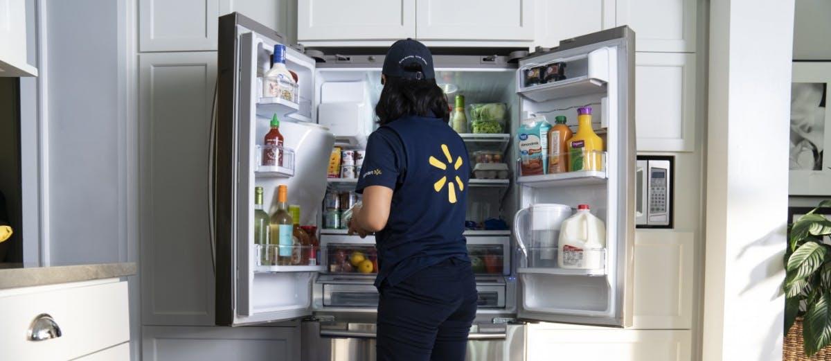 Konkurrenz für Amazon Key: Walmart will Waren direkt in den Kunden-Kühlschrank liefern