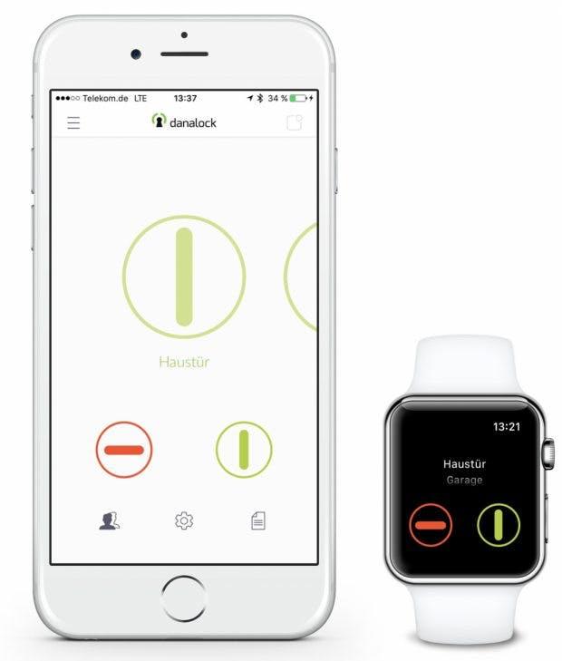 Smart Locks Apps wie die von Danalock funken stark verschlüsselt