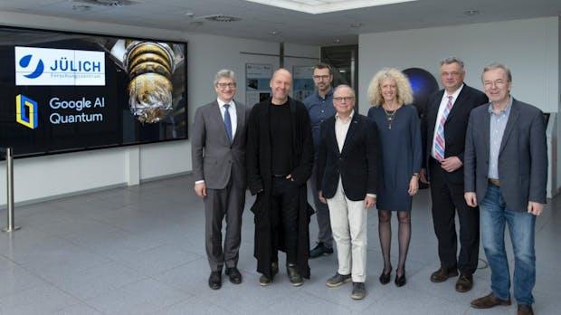 Quantencomputer: Google kooperiert mit Forschungszentrum Jülich