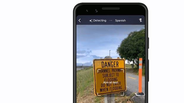 Google verbessert die Kamera-Übersetzung von Translate