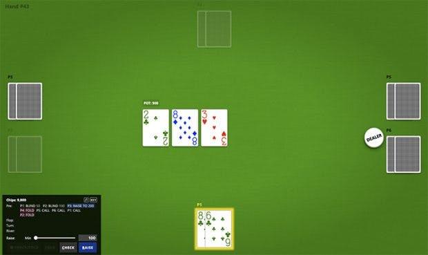 KI spielt Poker gegen 5 Profis