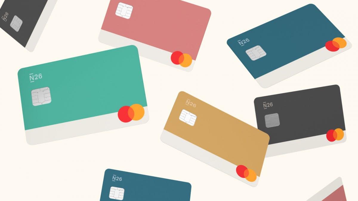 N26 will stylische Bank sein: Neue Features und Karten in 5 Farben