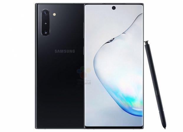 Das Samsung Galaxy Note 10 in aller Pracht. (Bild: Winfuture)
