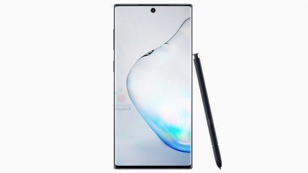 Das Samsung Galaxy Note 10. (Bild: Winfuture)