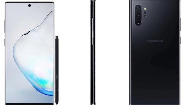 Das Samsung Galaxy Note 10 Plus. (Bild: Sammobile)