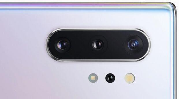Das Samsung Galaxy Note 10 Plus kommt mit Triple-Cam plus ToF-Sensor. (Bild: Winfuture)