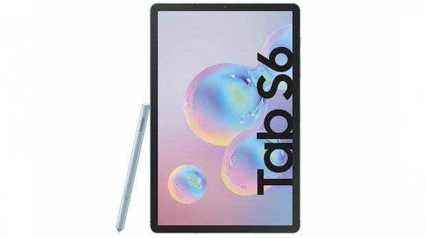 Samsung Galaxy Tab S6: Neues Oberklasse-Tablet mit In-Display-Fingerabdrucksensor und Stylus