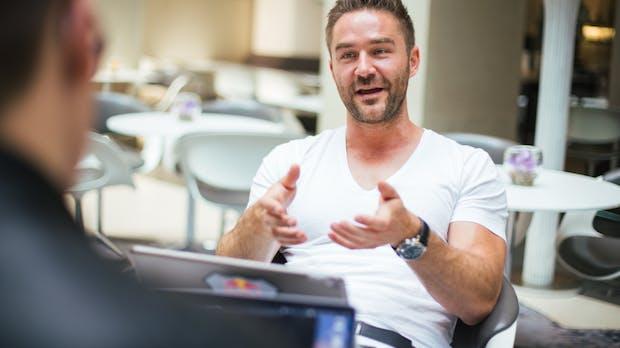 Umstrittener Seriengründer: Sebastian Diemer wehrt sich gegen Fake-Vorwürfe
