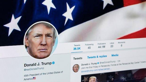 Verfassungswidrig: Trump darf keine Twitter-User blockieren