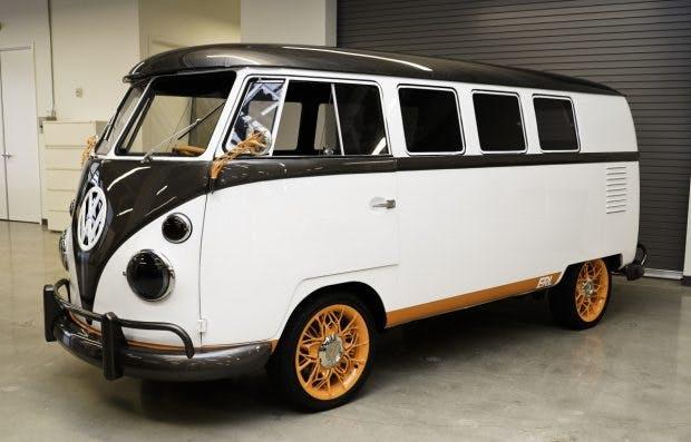 VW-Bus T1: Der legendäre Bulli ist als elektrisierter Type 20 zurück