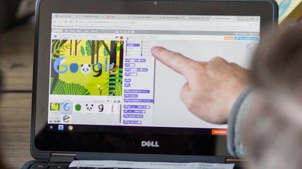 """Bildungsoffensive """"Code with Google"""": Kostenlose Kurse für Programmier-Einsteiger"""