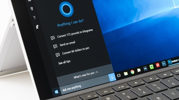 Windows 10 erlaubt Alexa auf dem Anmeldebildschirm