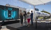 Hyperloop-Startup stellt erstes funktionsfähiges Tunnelstück in Europa fertig