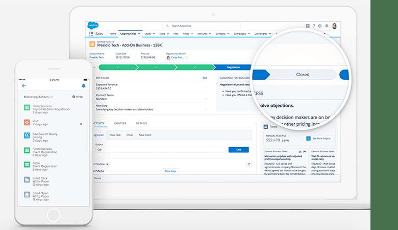 Die Übersichtlichkeit und Usability von Salesforce macht das CRM so beliebt