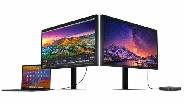 LG UltraFine 5K Display 2019. (Bild: Apple)